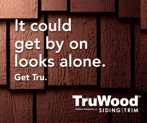 It could get by on looks alo. Get Ru. TruWood Siding & Trim