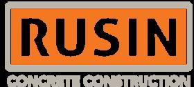 Rusin Concrete logo