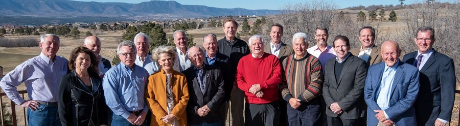 Past Presidents group photo 2018